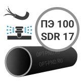 Труба ПЭ 100 sdr 17 техническая