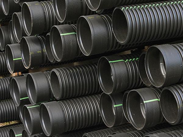 Гофрированные полиэтиленовые трубы для безнапорной канализации